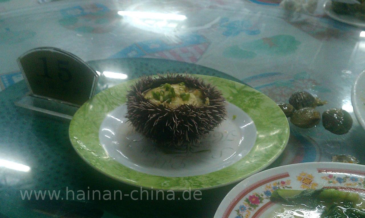 Essen und Trinken auf Hainan